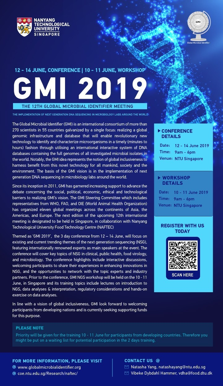 12th Global Microbial Identifier Meeting 2019