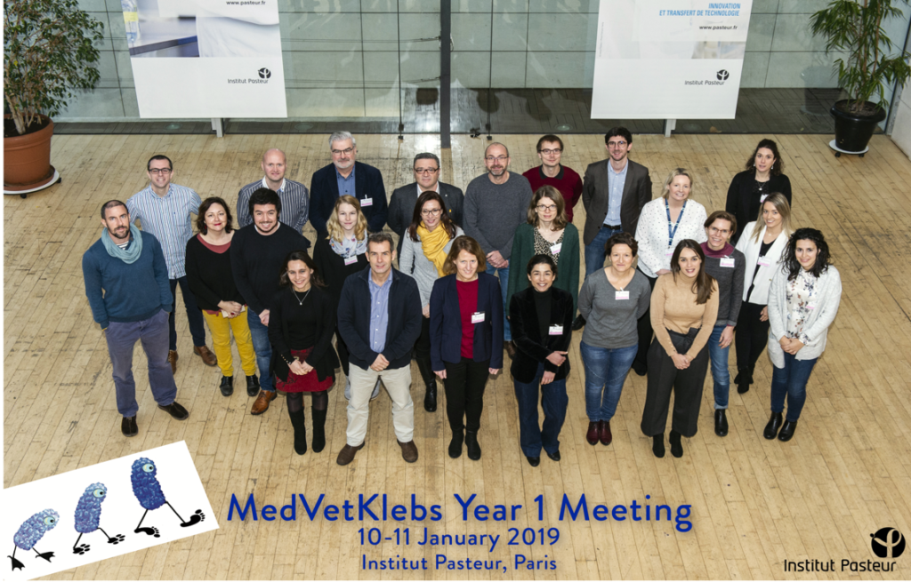 MedVetKlebs 1st Year Meeting